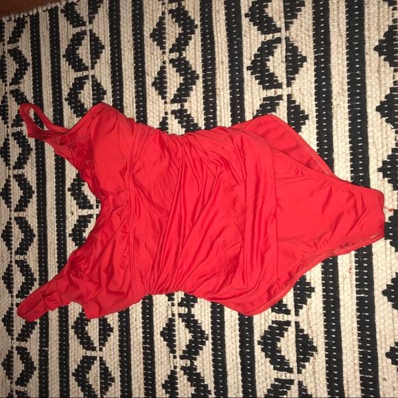 Lauren Ralph Lauren Other - Red Ralph Lauren one piece swimsuit